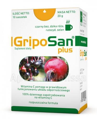 GRIPOSAN PLUS Wzmocnienie odporności - 10 sasz.