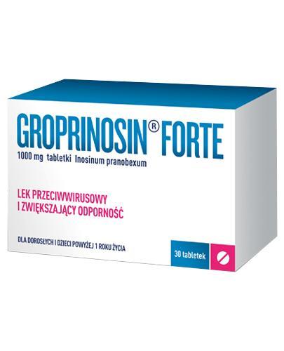 Groprinosin Forte - 30 tabl. - cena, opinie, właściwości - Apteka internetowa Melissa