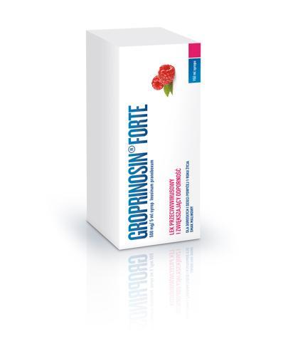 Groprinosin Forte Syrop  500 mg/5ml - 150 ml, Lek na infekcje - cena, opinie, właściwości - Apteka internetowa Melissa