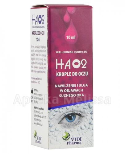 HA02 Krople do oczu z hialuronianem sodu 0,2% - 10 ml