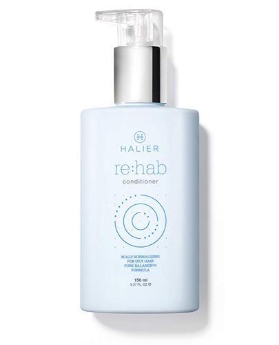 HALIER REHAB Odżywka - 150 ml - do włosów przetłuszczających - cena, opinie, właściwości