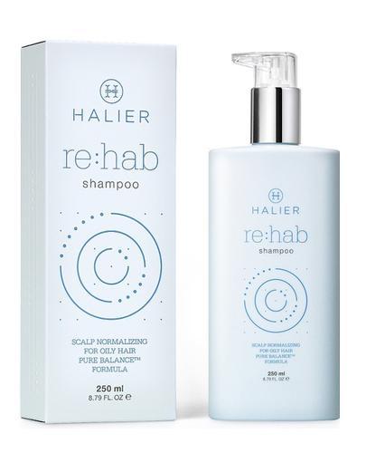 HALIER REHAB Szampon - 250 ml - do włosów przetłuszczających Data ważności 2020.11.30 - Apteka internetowa Melissa