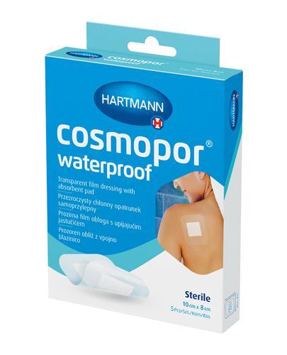 Hartmann Cosmopor Przezroczysty chłonny opatrunek samoprzylepny 10 cm x 8 cm - 5 szt. - cena, wskazania, właściwości - Drogeria Melissa
