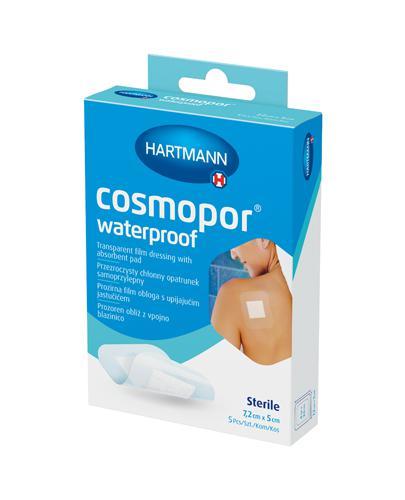 Hartmann Cosmopor Przezroczysty chłonny opatrunek samoprzylepny 7,2 cm x 5 cm - 5 szt. - cena, opinie, właściwości - Drogeria Melissa