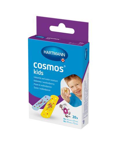 Hartmann Cosmos Plastry dziecięce Kolorowe 2 rozm. - 20 szt. - cena, wskazania, właściwości - Drogeria Melissa