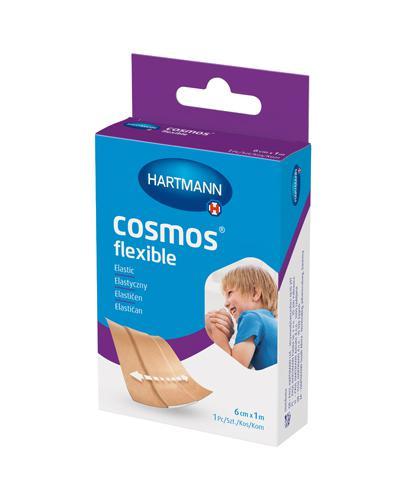 Hartmann Cosmos Plastry elastyczne 6 cm x 1 m -1 szt. - cena, opinie, wskazania - Drogeria Melissa