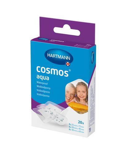 Hartmann Cosmos Wodoodporne plastry 3 rozm. - 20 szt. - cena, właściwości, skład - Drogeria Melissa