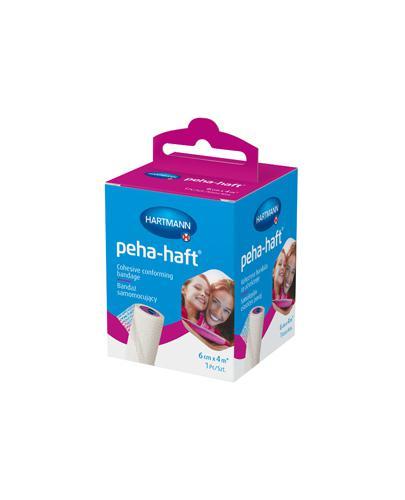 Hartmann Peha-haft Bandaż samomocujący 6 cm x 4 m - 1 szt. - cena, właściwości, stosowanie - Drogeria Melissa