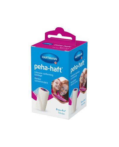 Hartmann Peha-haft Bandaż samomocujący 8 cm x 4 m - 1 szt. - cena, wskazania, skład - Drogeria Melissa