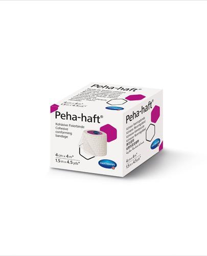 Hartmann Peha-haft Kohezyjna opaska podtrzymująca 4 cm x 4 m - 1 szt. - Do opatrunków - cena, opinie, stosowanie