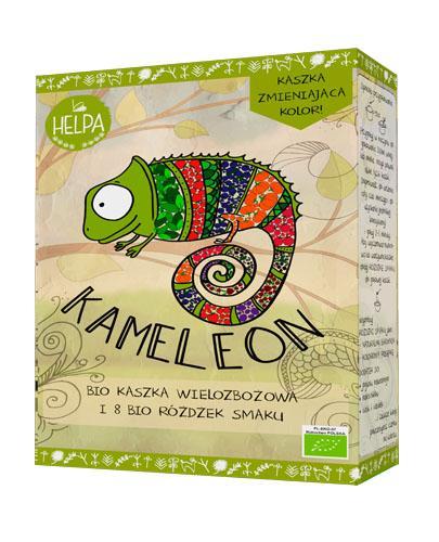 HELPA KAMELEON Bio Kaszka wielozbożowa i 8 Bio Różdżek smaku - 300 g + 8x2 g - kaszka zmieniająca kolor Data ważności 2021.08.30 - Apteka internetowa Melissa