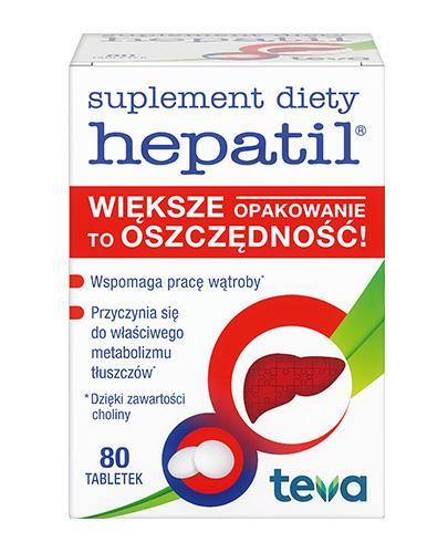 HEPATIL 150 mg - 80 tabl. - Apteka internetowa Melissa