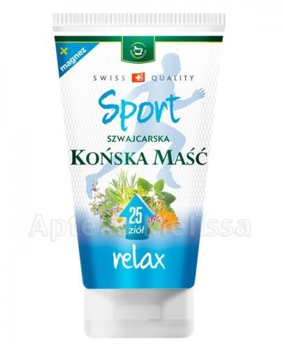 HERBAMEDICUS SPORT RELAX Końska maść - 150 ml - Apteka internetowa Melissa