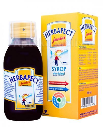 HERBAPECT JUNIOR Syrop - 100 ml  - Apteka internetowa Melissa