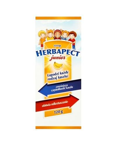 HERBAPECT JUNIOR Syrop o smaku bananowym - 120 g - Apteka internetowa Melissa