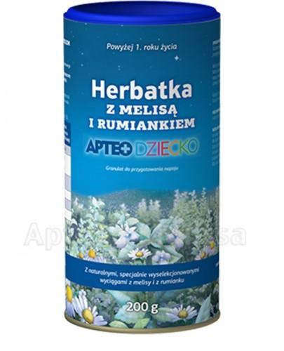 APTEO DZIECKO Herbatka z melisą i rumiankiem - 200 g