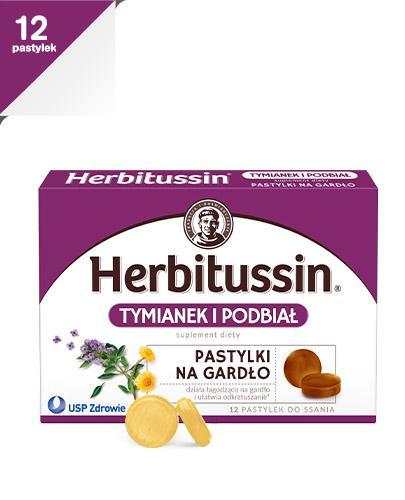 HERBITUSSIN TYMIANEK I PODBIAŁ - 12 past.