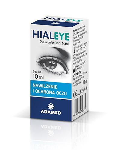 HIALEYE 0,2 Nawilżające krople do oczu - 10 ml - Apteka internetowa Melissa