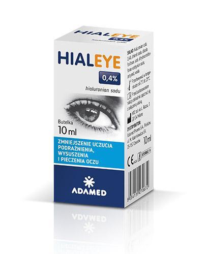 HIALEYE 0,4% Nawilżające krople do oczu - 10 ml