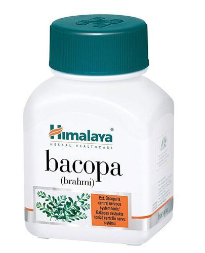 HIMALAYA Bacopa brahmi - 60 kaps. - cena, opinie, dawkowanie - Apteka internetowa Melissa