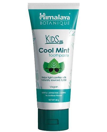 Himalaya Botanique Kids Cool Mint Toothpaste Pasta do zębów dla dzieci - 80 g - cena, opinie, skład - Apteka internetowa Melissa