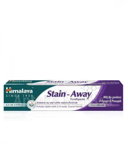 HIMALAYA STAIN-AWAY Pasta do zębów przeciw przebarwieniom - 75 ml