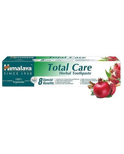 Himalaya Total Care Herbal Toothpaste Ziołowa pasta do zębów - 75 ml - cena, opinie, wskazania - Apteka internetowa Melissa