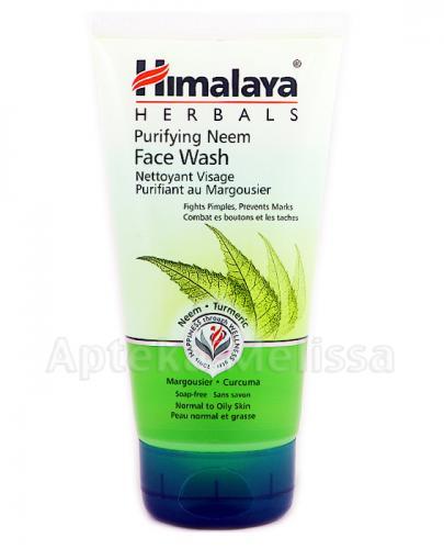 HIMALAYA Żel do mycia twarzy z miodlą indyjską neem do każdego rodzaju cery - 150 ml Data ważności 2021.04.30 - Apteka internetowa Melissa
