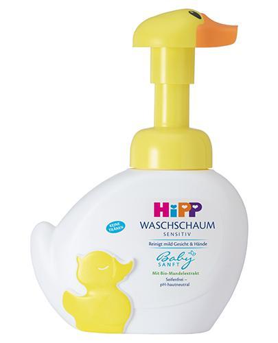 HIPP BABY SANFT Pianka-kaczuszka do mycia twarzy i rąk - 250 ml - Apteka internetowa Melissa