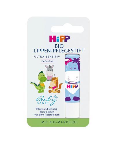 HIPP BABY SANFT Pielęgnacyjna pomadka do ust - 4,8 g