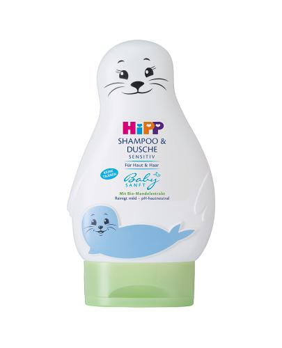 HIPP BABY SANFT Żel-foczka do mycia ciała i włosów - 200 ml
