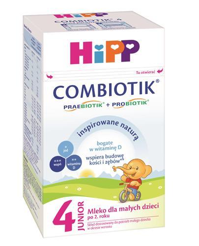 HIPP JUNIOR COMBIOTIK 4 Mleko dla małych dzieci po 2. roku życia - 600 g