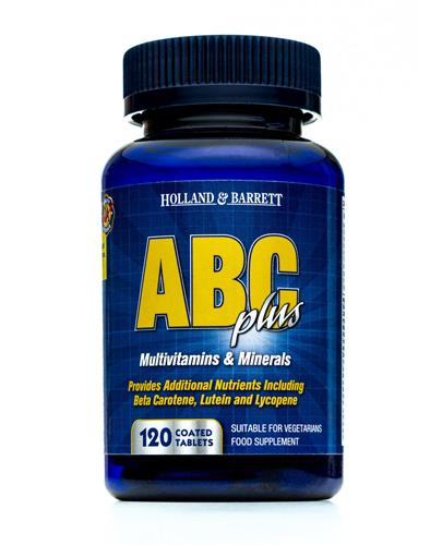 HOLLAND&BARRETT ABC Plus - 120 tabl. - Apteka internetowa Melissa