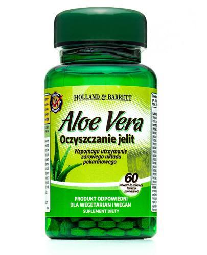 HOLLAND&BARRETT Aloe vera Oczyszczanie jelit 330 mg - 60 tabl. - Apteka internetowa Melissa