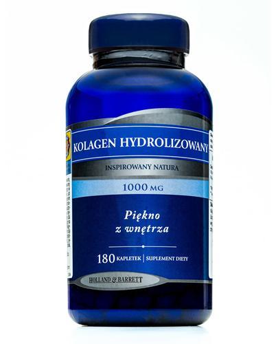 HOLLAND&BARRETT Kolagen hydrolizowany 1000 mg - 180 tabl. Piękno z wnętrza. - Apteka internetowa Melissa