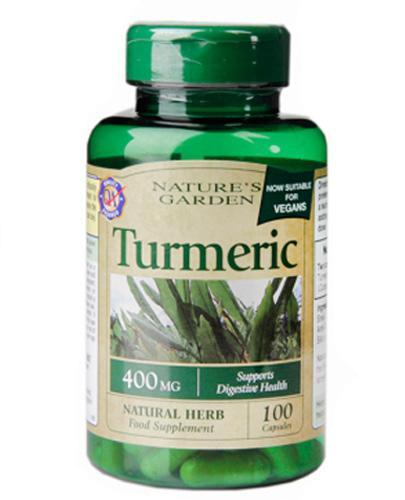 HOLLAND&BARRETT Kurkuma 400 mg - 100 kaps. - Apteka internetowa Melissa
