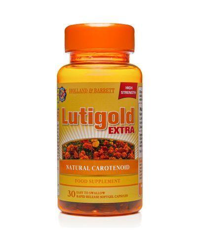 HOLLAND&BARRETT Lutigold extra 20 mg - 30 kaps. Dla zdrowych oczu. - Apteka internetowa Melissa