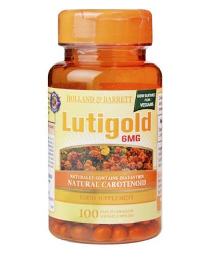 HOLLAND&BARRETT Lutigold luteina 6 mg - 100 kaps. Dla zdrowych oczu. - Apteka internetowa Melissa