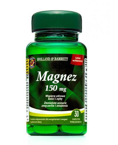 HOLLAND&BARRETT Magnez 150 mg - 30 tabl. - Apteka internetowa Melissa