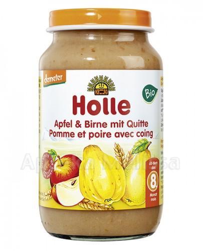 HOLLE Deser jabłko, banan i pigwa - 220 g