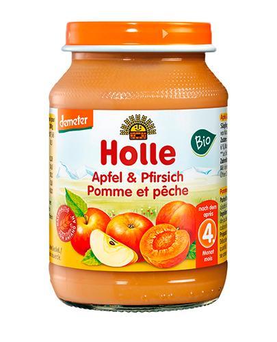 HOLLE Deserek Jabłko-Brzoskwinia - 190 g