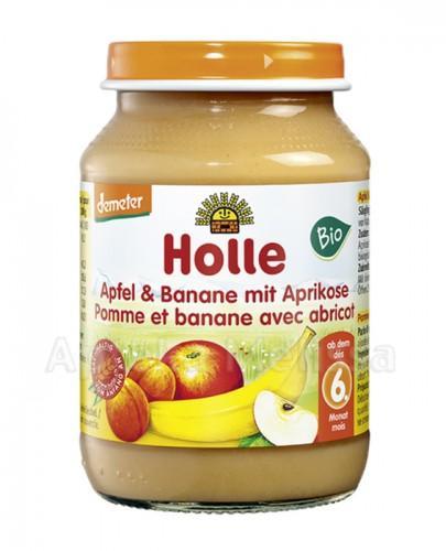 HOLLE Jabłko, banan i morela - 190 g - Drogeria Melissa