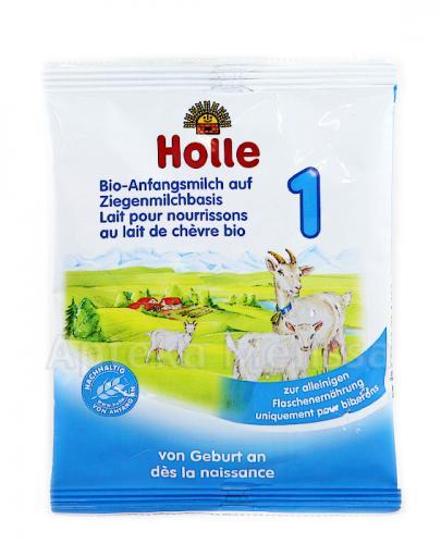 HOLLE 1 BIO Ekologiczne mleko początkowe na bazie mleka koziego - 20 g Data ważności: 2018.10.30 - Apteka internetowa Melissa