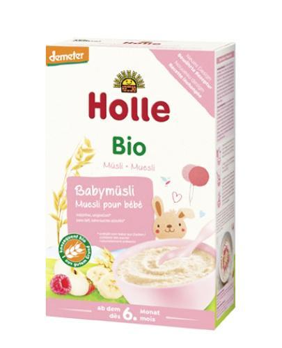 Holle Bio Kaszka musli pełnoziarnista od 6. miesiąca - 250 g - cena, opinie, stosowanie