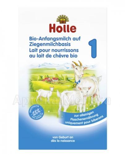 HOLLE Mleko pierwsze w proszku 1 na bazie mleka koziego - 400 g - Apteka internetowa Melissa