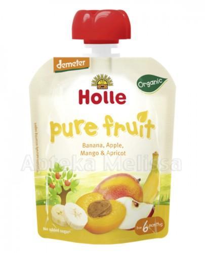 HOLLE Mus z banana, jabłka, mango i moreli - 90 g - Apteka internetowa Melissa