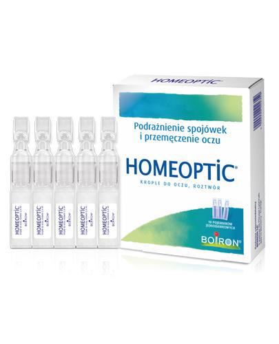 HOMEOPTIC Krople do oczu 0,4 ml - 10 minimsów   - Apteka internetowa Melissa