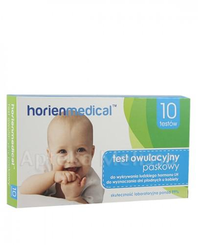 HorienMedical Test owulacyjny paskow 10szt