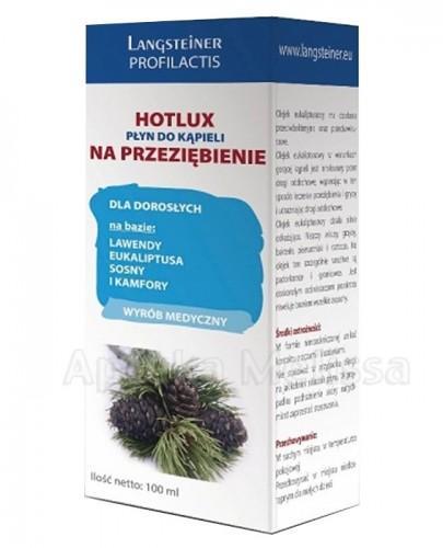 LANGSTEINER HOTLUX Płyn do kąpieli na przeziębienie - 100 ml - Apteka internetowa Melissa