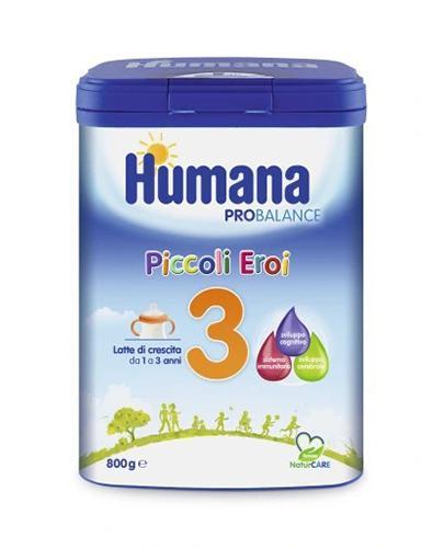 HUMANA 3 Mleko modyfikowane w proszku  - 800 g  - Apteka internetowa Melissa